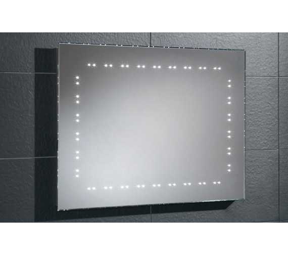 HIB Hannah Bevelled Edge LED Bathroom Mirror 800 x 600mm -73106200