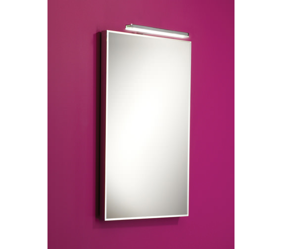 HIB Cappi Low-Energy Studio LED Illuminated Mirror 400 x 600mm