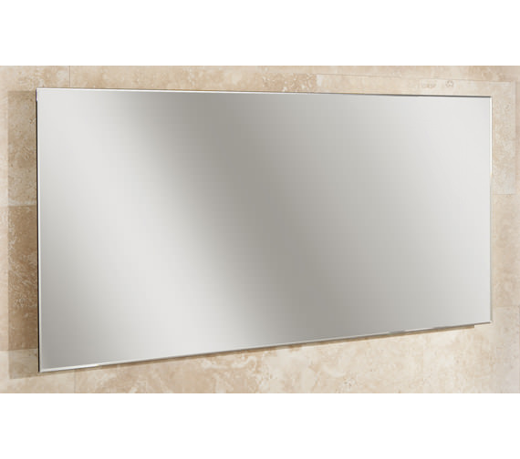 HIB Willow Landscape Bevelled Edge Mirror 1200 x 600mm - 77305000