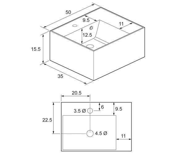 Technical drawing QS-V48020 / EL0001SRW