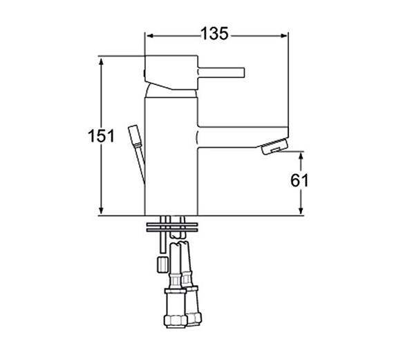 Technical drawing QS-V48033 / RUB 113