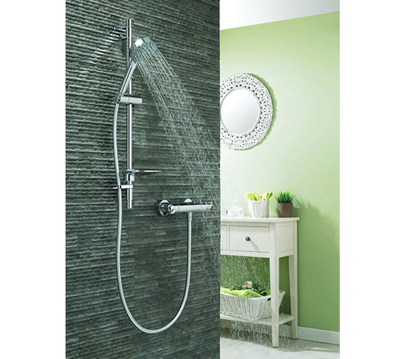 Deva Response Thermostatic Bar Shower Valve With Five Function Kit