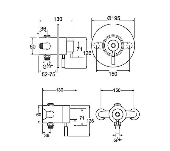 Technical drawing QS-V48062 / VSNVCONT04