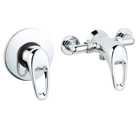 Deva Lace Exposed Or Concealed Manual Shower Valve - LACVMANM03 Image