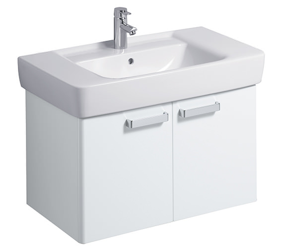 Twyford Galerie Plan Furniture Unit And Washbasin 850mm