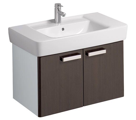 Additional image of Twyford Galerie Plan Furniture Unit And Washbasin 850mm
