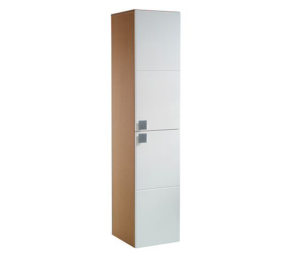 Twyford Refresh Square Tall Cabinet - RS0700WH