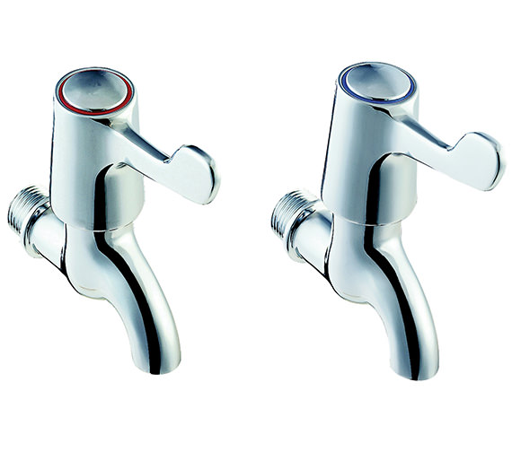 Twyford Sola Lever Action Bib Taps - SF2301CP