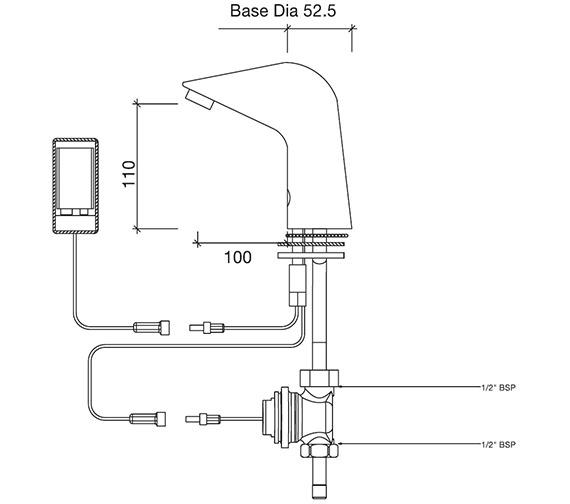 Technical drawing QS-V48271 / SF2601CP