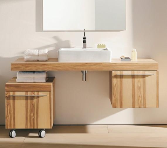 duravit fogo floor cabinet for console 550 x 500mm. Black Bedroom Furniture Sets. Home Design Ideas