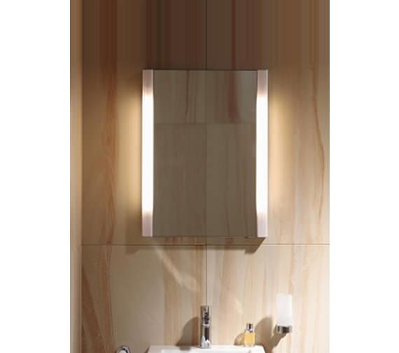 Duravit Ketho 650 x 750mm 1 Door Mirror Cabinet