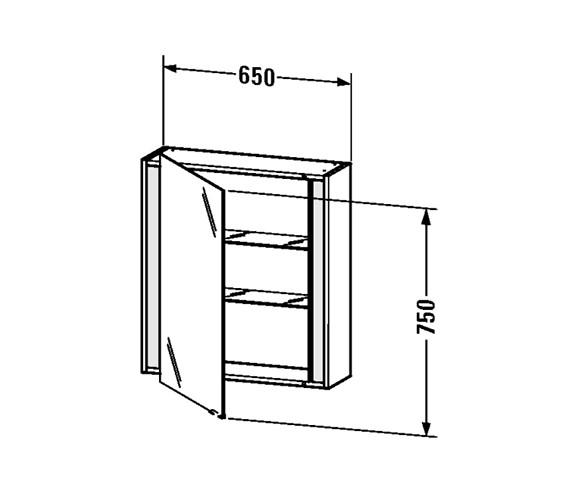 Technical drawing QS-V48893 / KT7530L0707