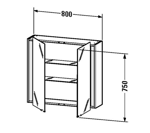 Technical drawing QS-V48894 / KT753100707