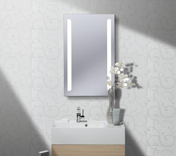Crosswater Elite 500mm x 800mm Illuminated Dazzling LED Back Lit Mirror
