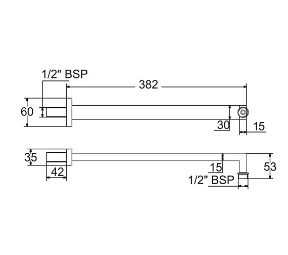 Technical drawing QS-V49093 / ARMW05