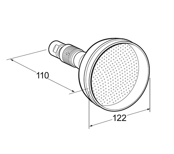 Technical drawing QS-V49105 / HEAH02/G
