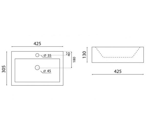 Technical drawing QS-V49181 / CT0037UCW
