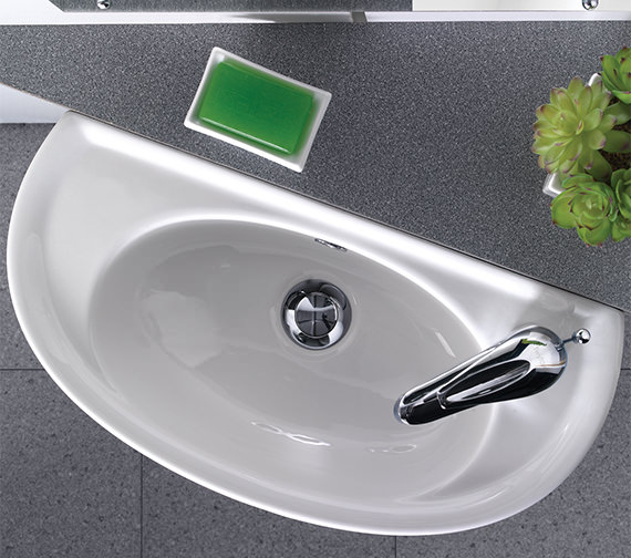 Additional image of Twyford Galerie Optimise Short Projection Handrinse Basin 535 x 260mm