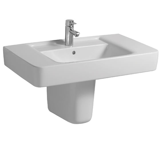 Twyford Galerie Plan 1 Centre Tap Hole Washbasin 1000 x 480mm