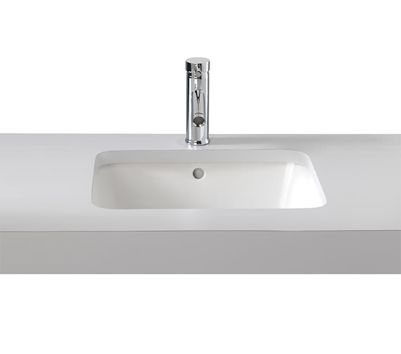 Twyford Moda Under Countertop Washbasin 520 x 410mm - MD4510WH
