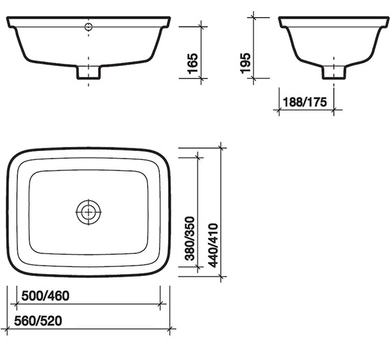 Technical drawing QS-V49303 / MD4510WH
