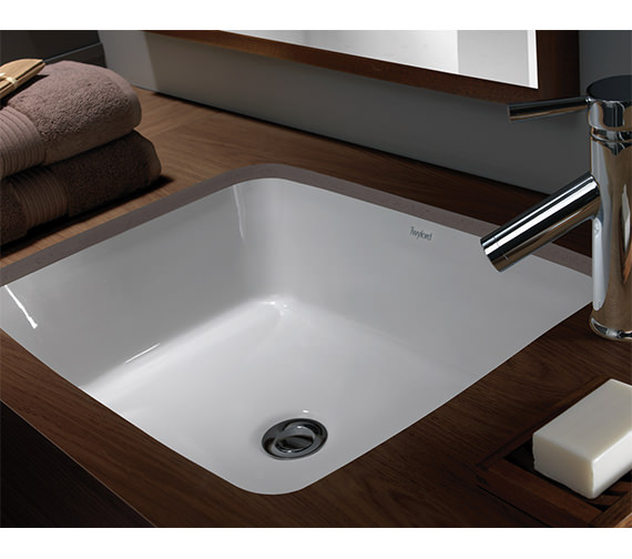 Additional image of Twyford Moda Under Countertop Washbasin 520 x 410mm - MD4510WH