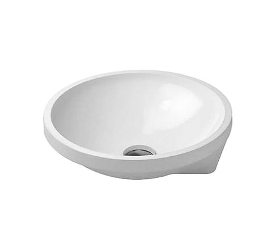 Duravit Architec 400mm Undercounter Vanity Basin - 0463400000