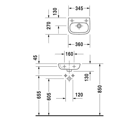 Technical drawing QS-V49412 / 07053600002