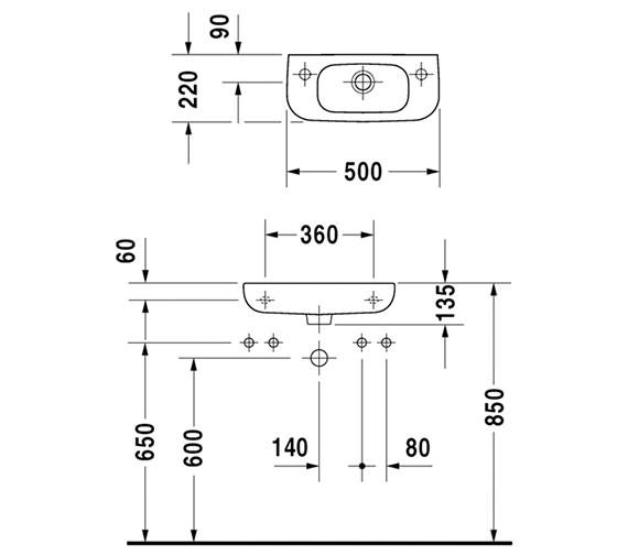 Technical drawing QS-V49414 / 07065000092