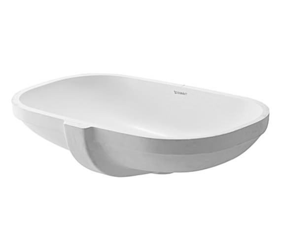 Duravit D-Code 495 x 290mm Undercounter Vanity Basin - 0338490000