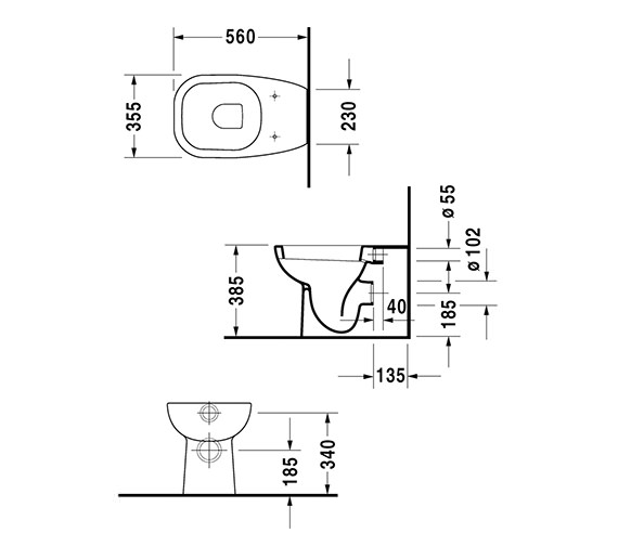 Technical drawing QS-V49430 / 21150900002
