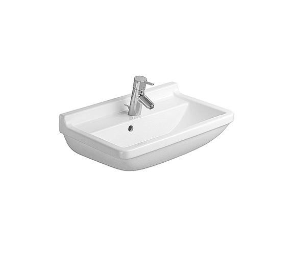 Duravit Starck 3 Compact Washbasin With Overflow 550mm - 0301550000