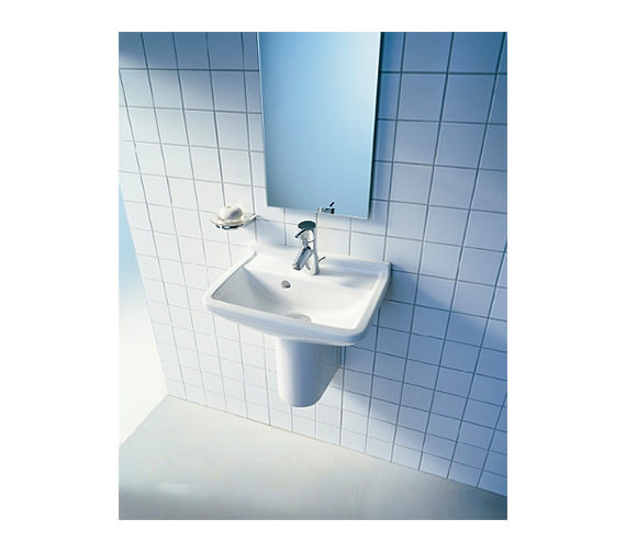 Duravit Starck 3 Compact Washbasin 550mm With Overflow