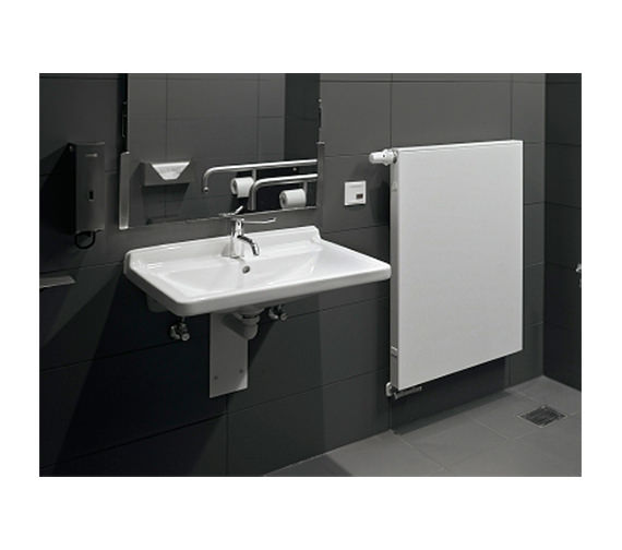 ... Additional Image Of Duravit Starck 3 Wall Hung Basin With Overflow  700mm   Ex Display