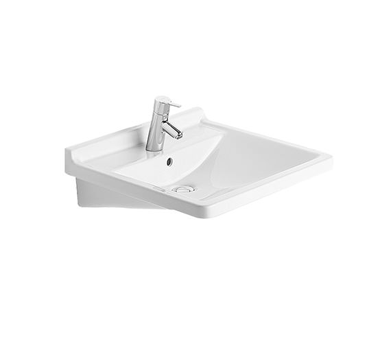 Duravit Starck 3 Washbasin With Overflow 600mm - 0309600000