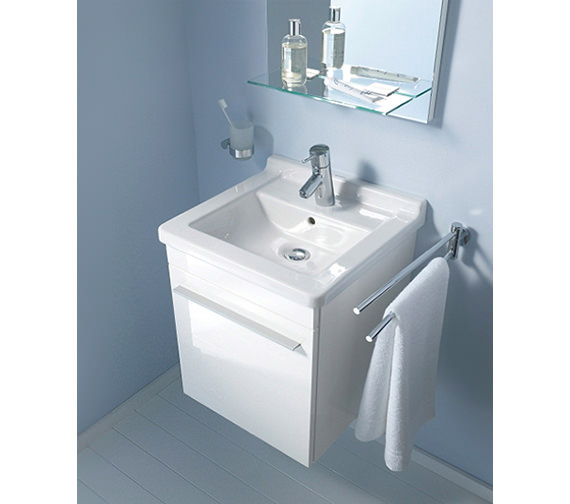 Duravit X-Large 440mm Left Hand Vanity Unit And 480mm Starck 3 Basin