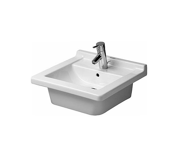 Duravit Starck 3 Vanity Countertop Basin With Overflow 480mm - 0303480022