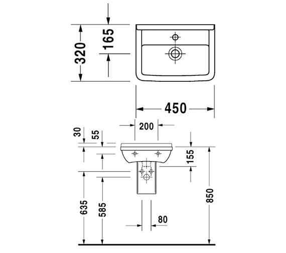 Technical drawing QS-V49566 / 0750450000