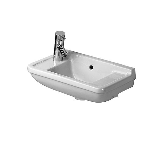 Duravit starck 3 handrinse basin with overflow 500mm 0751500000 - Bassin starck ...