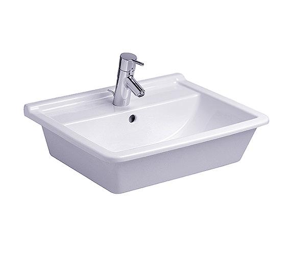 Duravit Starck 3 Vanity Countertop Basin with Overflow 560mm - 030256