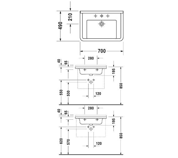 Technical drawing QS-V49578 / 0304700000