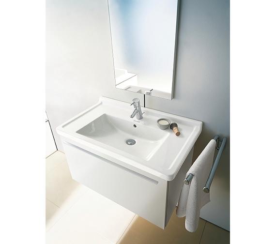 Alternate image of Duravit Starck 3 Washbasin 700mm With Overflow