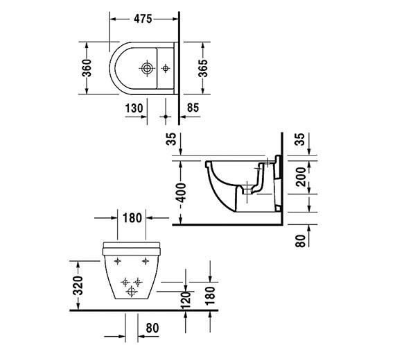 Technical drawing QS-V49582 / 2231150000