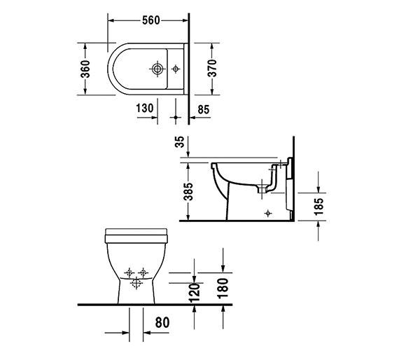 Technical drawing QS-V49583 / 2230100000