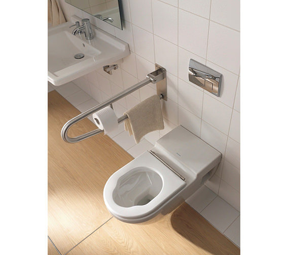 Duravit Starck 3 Wall Mounted Toilet