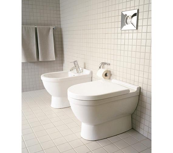 Duravit Starck 3 Floor Standing Toilet - 0124090000