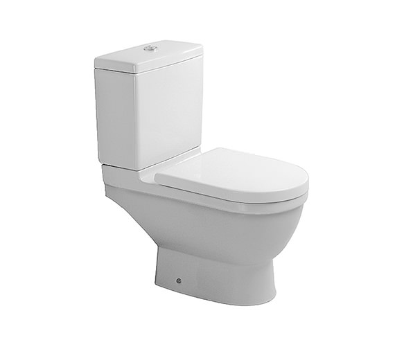 Duravit Starck 3 Close Coupled Toilet with Cistern Seat and Cover - 012609