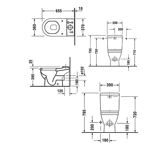 Technical drawing QS-V49590 / 0126090000