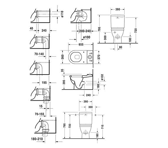Technical drawing QS-V49591 / 0128090000