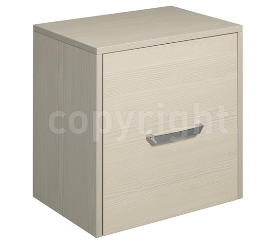 Bauhaus Essence 500mm Single Door Storage Unit Glacier - ES5035FGL